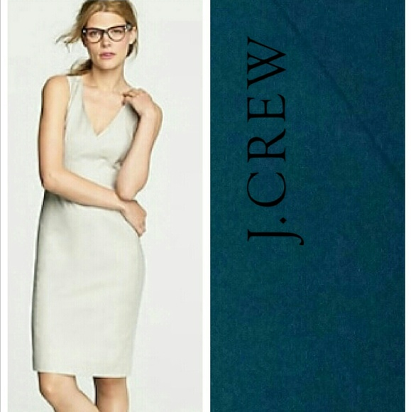 177430debdd J. Crew Dresses   Skirts - J CREW Super 120 s Exchange teal dress ...
